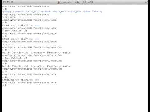CMake & Unix Linux Tutorial (new)