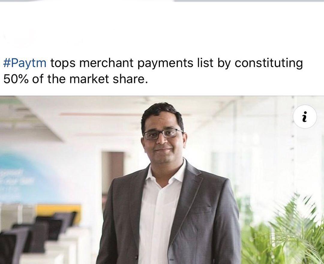 latest technology updates Paytm tops the merchant payment. . . . . . . . . . @paytm @paytmmall @paytmmoney… from techmirrors