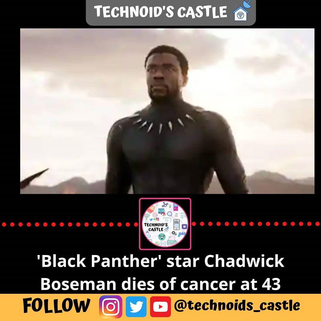 latest technology updates   #blackpanther  #ripchadwickboseman #marvel #avengers  #google #oneplus #oneplu… from techmirrors