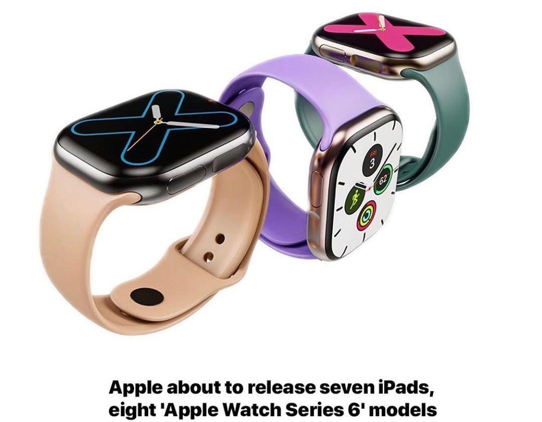 latest technology updates New Apple Watch 6 & Apple iPad launching soon . . . . . . . . . . . . . @apple #… from techmirrors