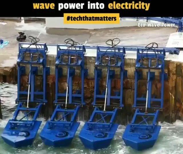 latest technology updates Ini adalah @ecowavepower, teknologi inovatif yang terjangkau yang menghasilkan l… from techmirrors