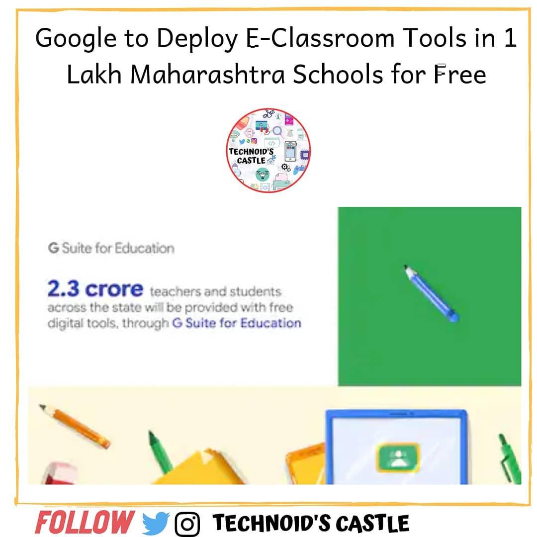 latest technology updates  #google #googleandroid #gsuite #eclassroom @google @googleindia @googlepixel @m… from techmirrors
