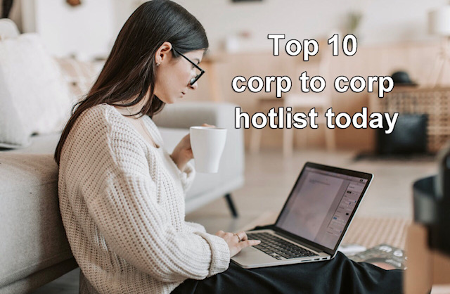 For thousands of daily US jobs and Updated Corp to corp hotlist