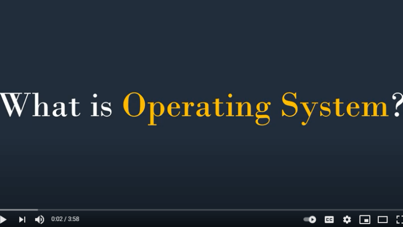 #1 – What is Operating System   How OS works   How Operating System Works   What is OS operating systems tips from Techmirrors