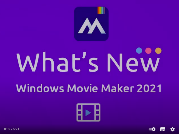 What's new in Windows Movie Maker 2021– easy movie maker mode,mosaic mode & timecode mode windows troubleshoot tricks from Techmirrors
